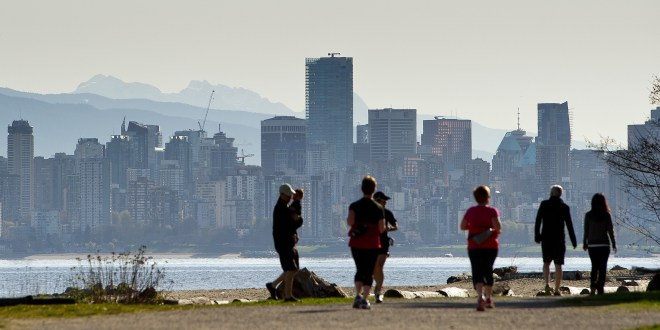 Slow quakes not felt in Vancouver. PHOTO: RICHARD LAM/PNG